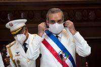 Dominikanska republikens president Luis Abinader vill spärra gränsen mot Haiti. Arkivbild.