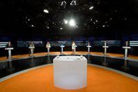 En valrysare nästa höst ser ut vänta tre av åtta partiledare. Arkivbild.