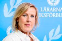 Åsa Fahlén ordförande för Lärarnas Riksförbund. Arkivbild.