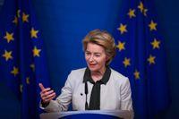 EU-kommissionens ordförande Ursula von der Leyen.