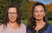 Susanne Norman (t.v) och Lillemor Bergquist (t.h)
