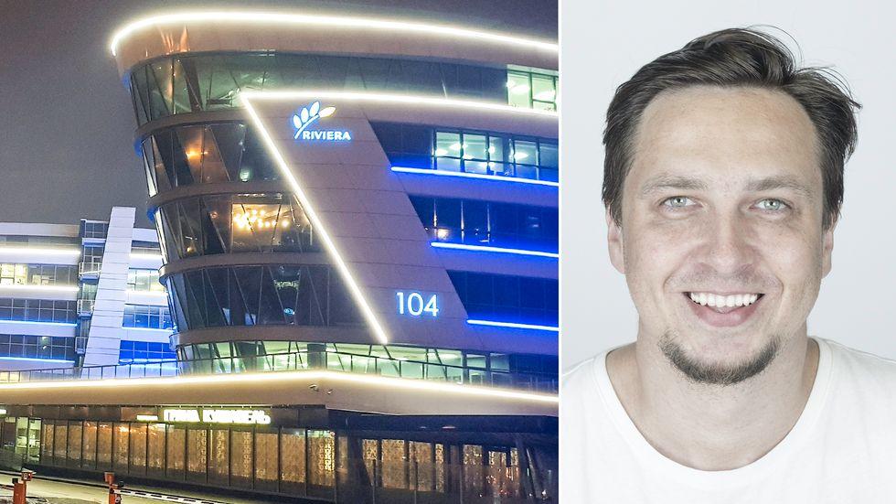 Mikalaj Murziankou, grundare och vd för it-företaget Iomico, har flyttat till Warszawa.