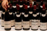 Viner av märket Domaine de la Romanée-Conti hörde till det som stals från en stjärnkrog i Köpenhamn. Arkivbild