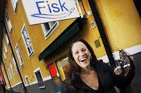 Renée Nyberg gillar småstadskänslan på Ålstensgatan.