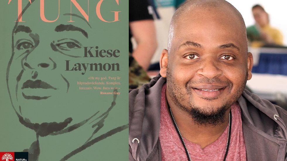 """Kiese Laymon, född 1974, är professor i engelska och kreativt skrivande på universitetet i Mississippi. """"Tung"""" är Laymons tredje bok och har tilldelats flera litterära priser, bland annat Carnegie Medal for Nonfiction."""