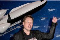 Elon Musk. Bild från galan då Axel Springer-priset delades ut i Berlin i förra veckan.