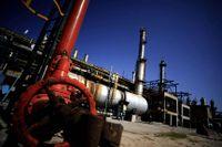 Rusning uppåt för amerikanska oljan