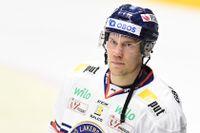 Ilari Melart gjorde ett av Växjös mål. Arkivbild.