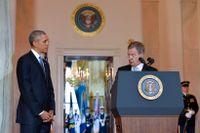 Finlands president Sauli Niinistö togs i förra veckan emot i Vita huset vid det nordiska toppmötet i Washington, DC.