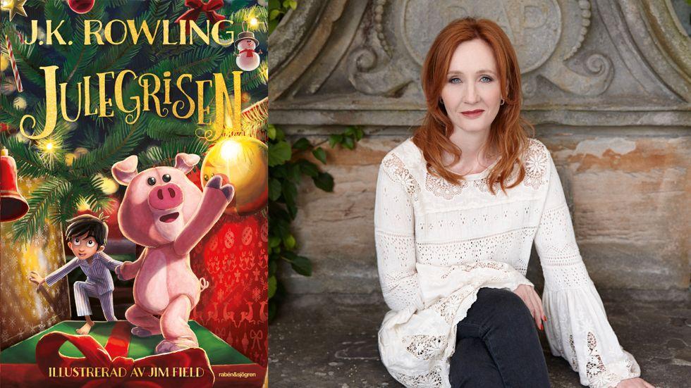 """JK Rowlings """"Julegrisen"""" kommer ut samtidigt i trettio olika länder."""