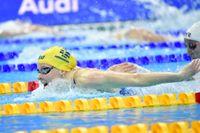 Louise Hansson imponerade när sim-EM inleddes i Budapest.