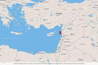 Attacken i våras ägde rum i den nordvästra delen av Syrien.