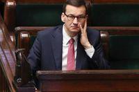 Mateusz Morawiecki är Polens premiärminister. Arkivbild.