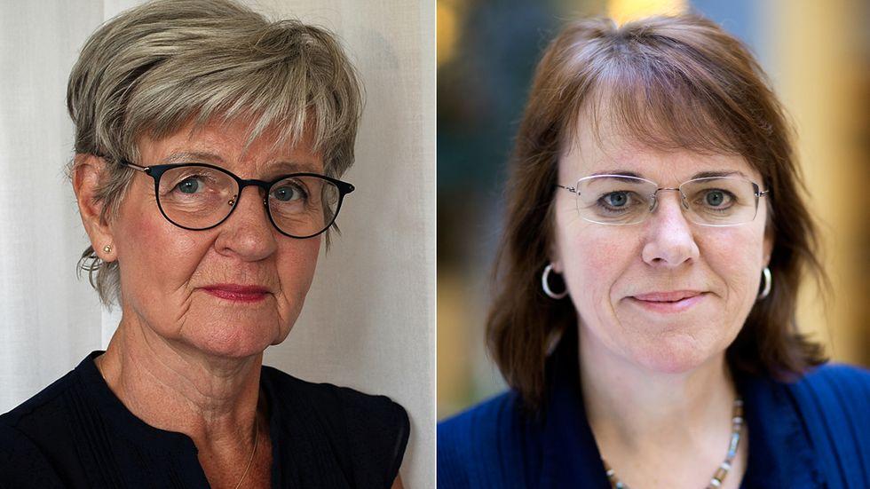 Agneta Öjehagen och Claudia Fahlke.