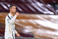 Cristiano Ronaldo är frisk från covid-19. Arkivbild.