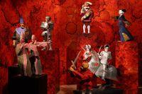 """Karl-Olof Björks skulpturgrupp """"Stockholms blodbad"""" ställs ut i Medeltidsmuseets nya utställning """"Stockholms blodbad 500 år""""."""