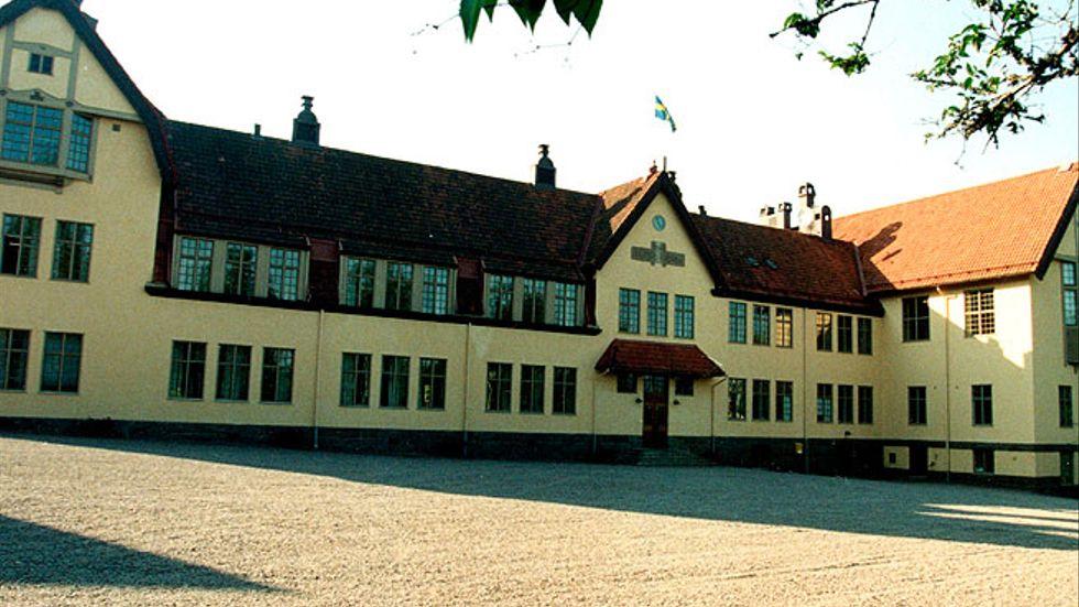 Internatskolan Lundsberg.