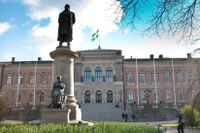 Uppsala universitets huvudbyggnad stod klar 1887.