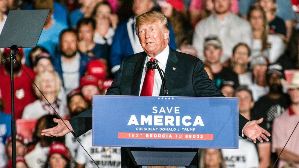 Mycket talar för Donald Trump försöker bli president igen.