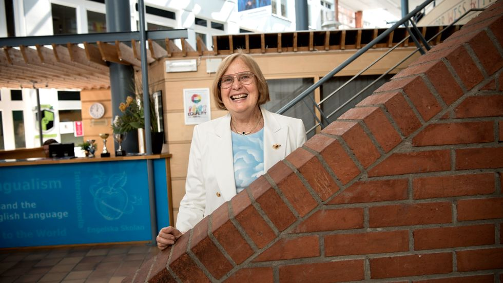 Bolagets grundare Barbara Bergström