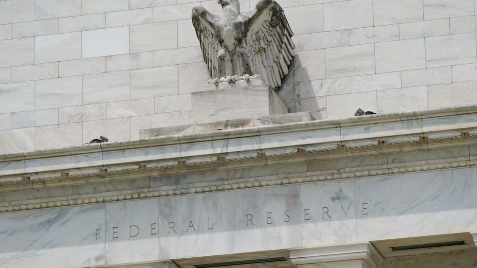 Den amerikanska centralbanken Federal Reserve har lämnat ett räntebesked. Arkivbild.