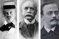 """August Strindberg, Ola Hansson och Gustaf af Geijerstam intresserade sig på olika sätt i sina böcker för vad de menade var människans """"normalitet"""" – och vad som avvek från den."""