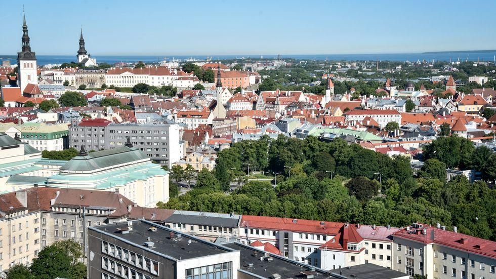 EU-ledarna träffas i Tallinn Arkivbild.
