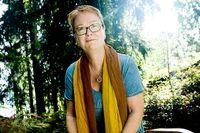 Matredaktör Ingrid Eriksson tar gärna tillvara på skogens guld. Många kantareller har hon tillaga genom åren.