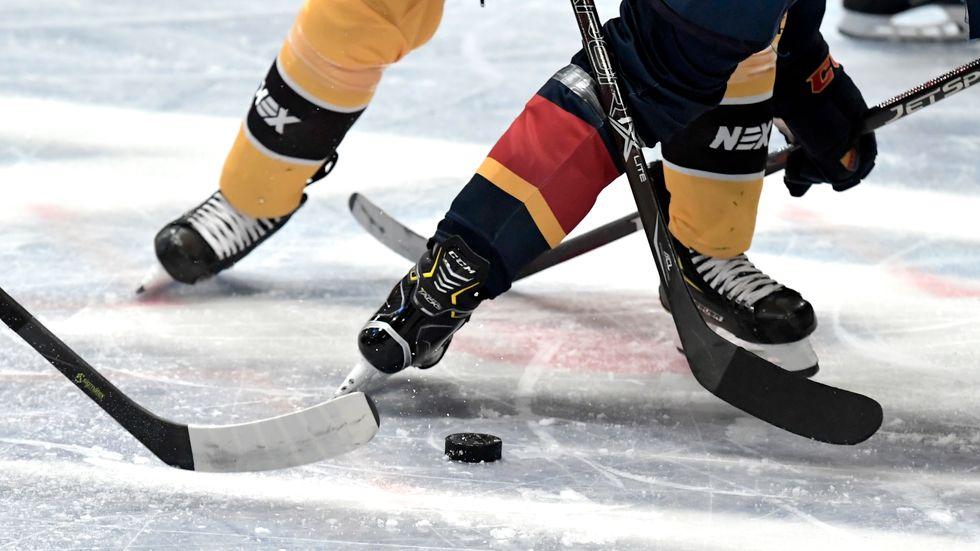 Kvällens match i hockeyettan mellan Karlskrona och Mörrum blir inte av. Arkivbild.