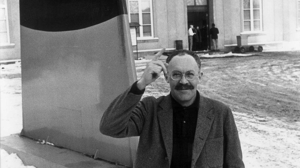 Museimannen Pontus Hultén fick i början av 2000-talet kritik för hur han i en utställning framställde vandalerna i Värnamo.