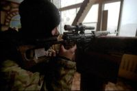Ryssland fortsätter att rusta, här Spetsnaz i aktion.