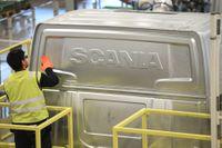 Lastbilstillverkaren Scania redovisar kvartalssiffror. Arkivbild.