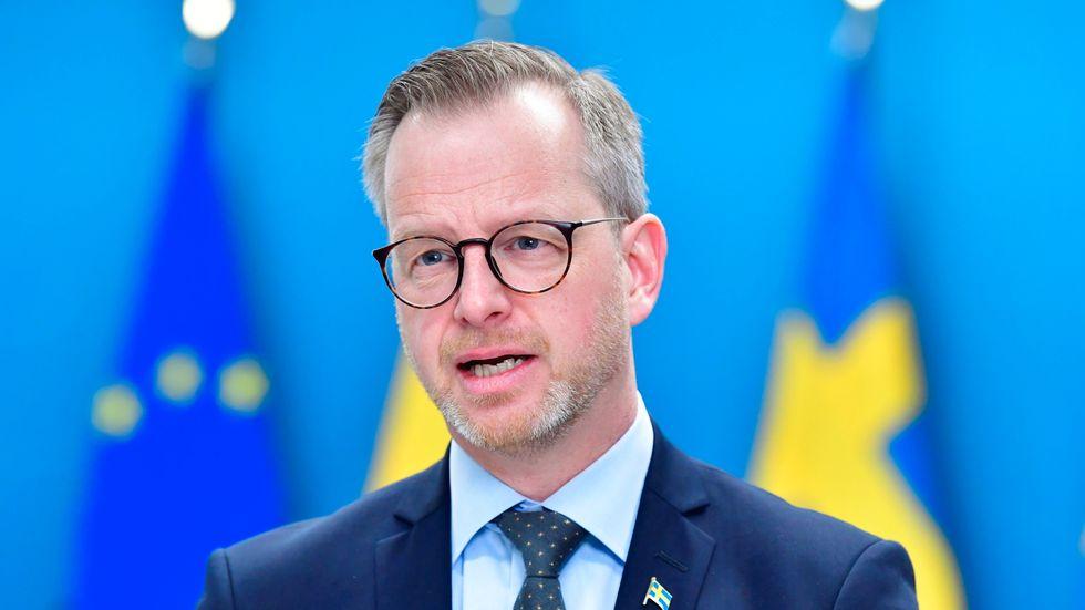 Inrikesminister Mikael Damberg (S) s att