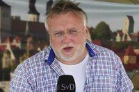 Göran Eriksson på plats i Almedalen.