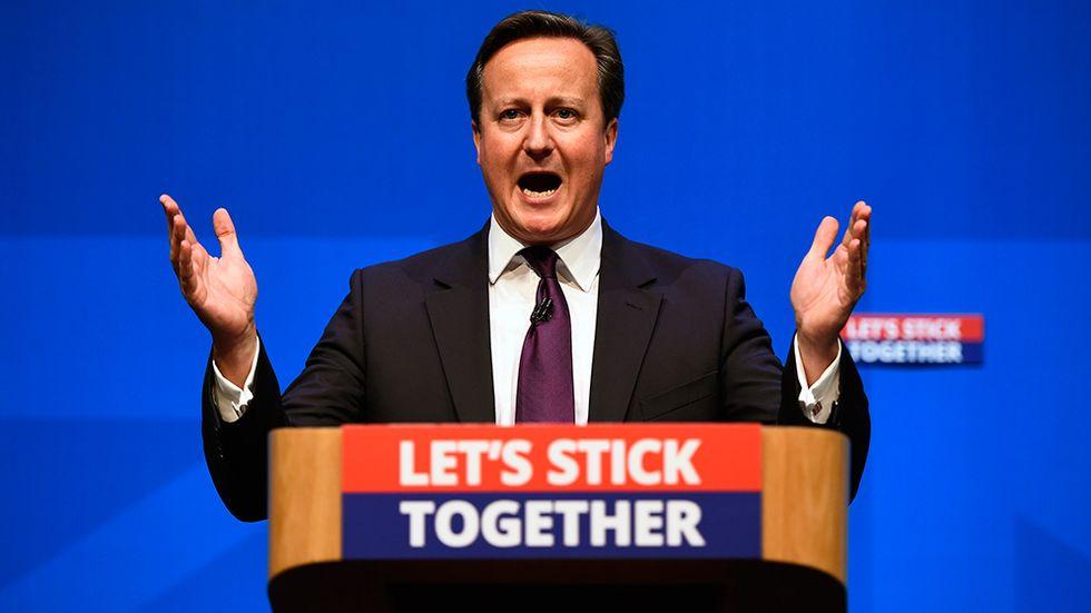 David Camerons linje har inte minskat stödet för The UK Independence Party (UKIP)