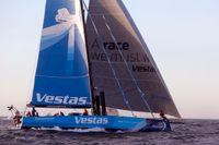 Vestas leder Ocean Race efter den första etappen. Arkivbild.