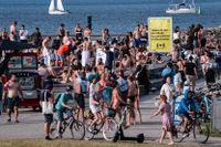 Smittspridningen ökar i Sveriges storstäder.