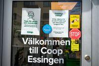 Coop på Stora Essingen håller fortsatt stängt.