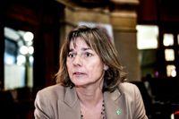 Klimatminister Isabella Lövin (MP).