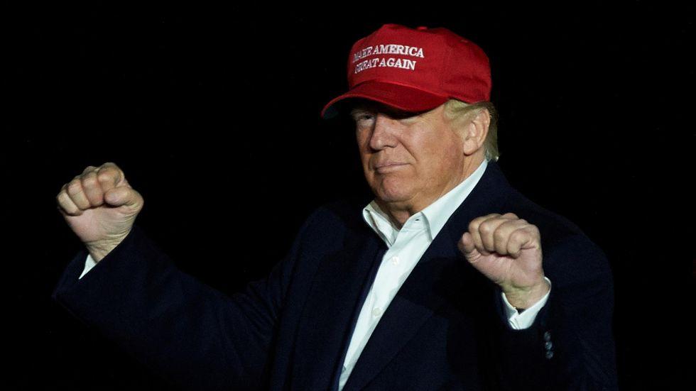 A fake president