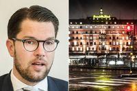 """Jimmie Åkesson står värd när SD bjuder in till """"European Freedom Awards"""" – partiets största internationella sammankomst någonsin."""