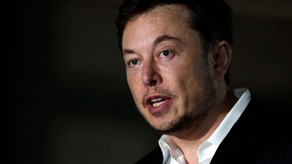 Enligt Teslas vd Elon Musk har bolaget utsatts för sabotage. Arkivbild