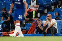 Manchester Citys tränare Pep Guardiola får nöja sig med en andraplats i år.