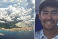 Den förbjudna North Sentinel Island, som tillhör ögruppen Andamanerna.