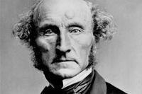 John Stuart Mill, fotograferad cirka 1870.