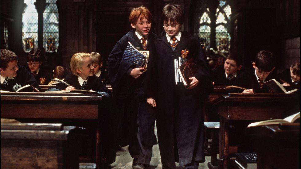 """""""Harry Potter och de vises sten"""" kan ses till livemusik i Stockholm i höst. Arkivbild."""