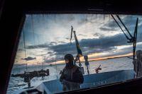 Bilden är från en tidigare militärövning på Östersjön 2014 med fartyg, luftförsvar och ubåtsjakt.