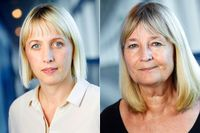 Jytte Guteland och Marita Ulvskog.