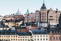 Mytomspunna Södermalm har gått från att ha varit ganska skitigt i sina hörn till ett av Stockholms hetaste områden, det menar Pia-Lotta Svensson, säljchef på Fastighetsbyrån på Södermalm.