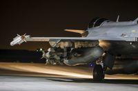 Ett franskt stridsflygplan på uppdrag mot IS.